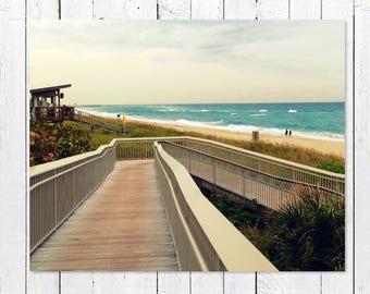 Beach Decor Prints   Beach Photography   Turquoise Sea, Teal Ocean Waves   Beach Pictures   Beach House Wall Art   Beach Theme Gifts  