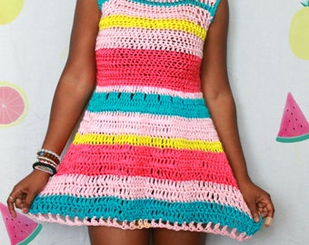 S/S 17. The Sillage Crochet Dress Pattern. Intant Download!