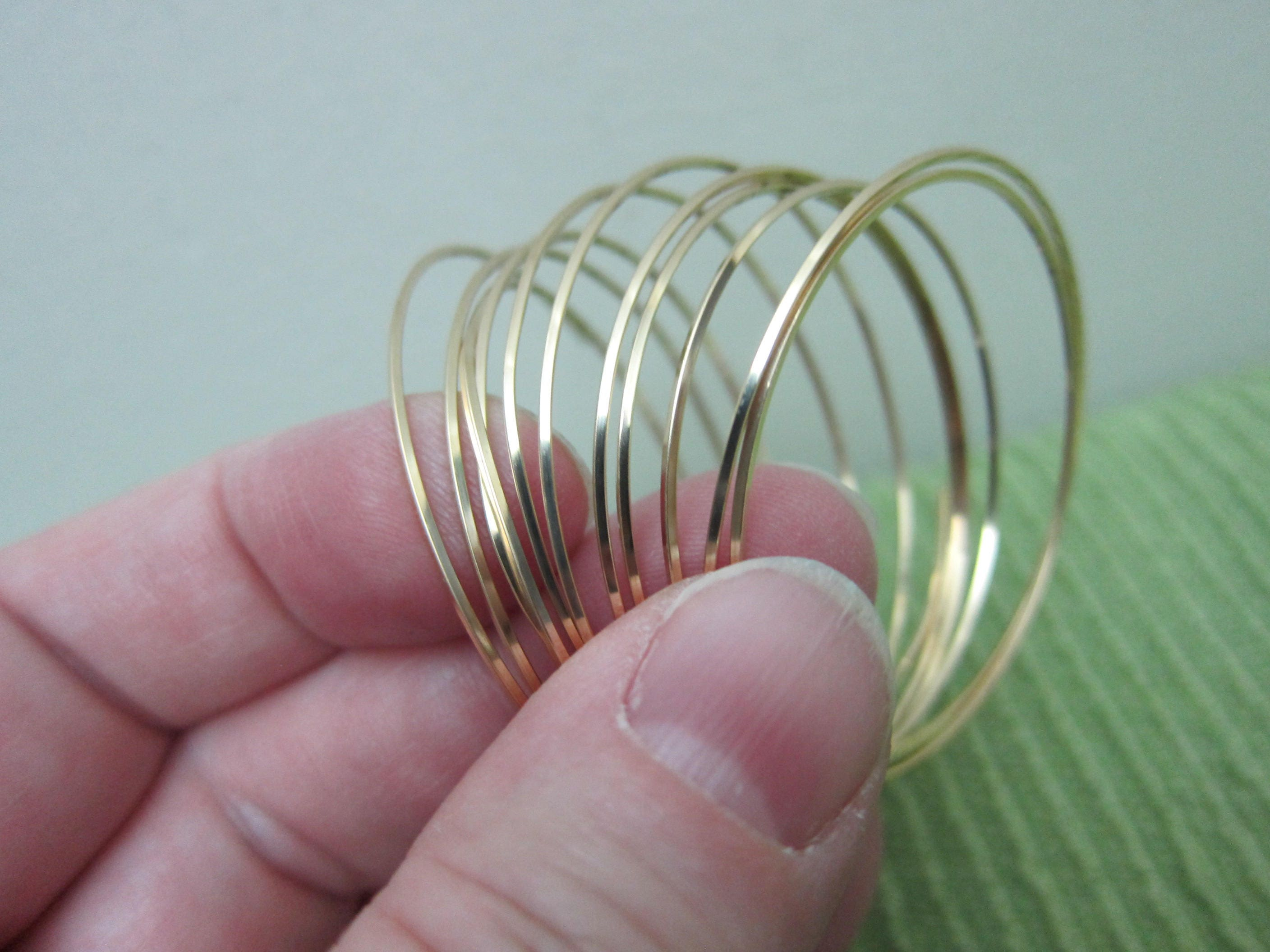 20 gauge, 12kt Gold-Filled (12/20) Wire, Half Hard, Square ...