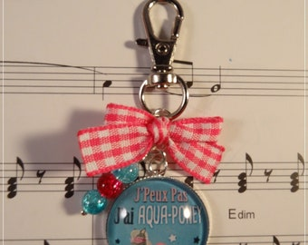 Keyring / bag charm, I can't I aquaponey