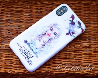 Mother of Dragons, Khaleesi from Game of Thrones, I will take what is mine with fire and blood Case for iPhone, Samsung, other by Takila