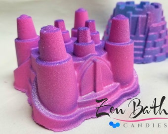 Princess Castle Bath Bomb | Vegan Bath Fizz  |  Handmade Bath Bombs