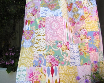Jennifer Paganelli Nostalgia Patchwork and Minky Blanket