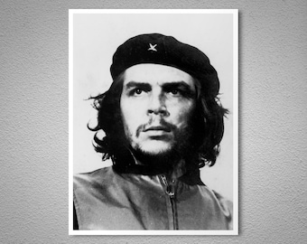 Che Guevara Vintage Poster - Poster Paper, Sticker or Canvas Print / Gift Idea