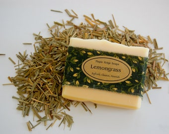 Lemongrass Soap- Maple Ridge Soaps