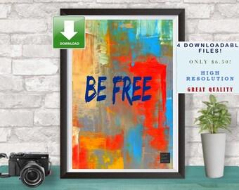Digital Art Download, Art Print, Print Download, Downloadable Print, Downloadable Art, Horizontal Print