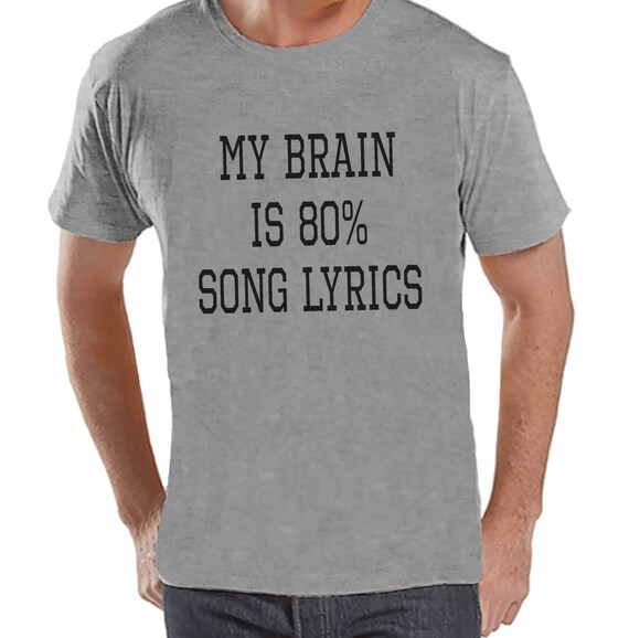 My Brain Is 90% Song Lyrics Hoodie - Music lover shirt 7YejHW