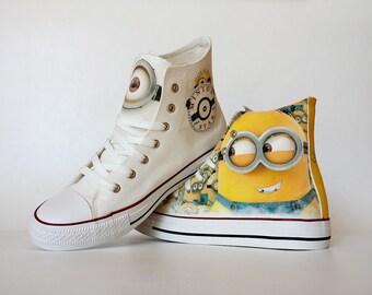 Fanart Minions Request Shoe Decoration