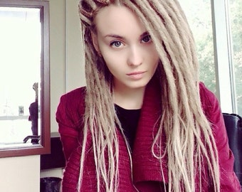 Blonde Double Ended Synthetic Dreads Dreads