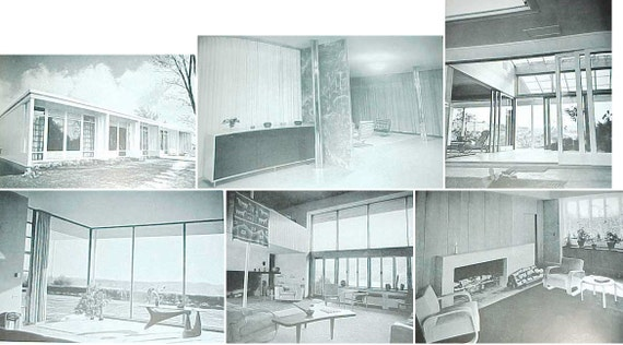 1946 If You Want to Build A House MoMA mid century modern