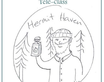 Hermit Haven Teleclass Recording and Workbook - self-development class using the tarot archetype of the Hermit