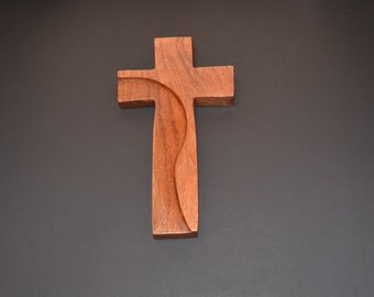 "Wood Wall Cross;5""x9""x1"";Christian Gift;Baptism, Christening; Confirmation; Sympathy; Easter; Graduation; Free Ground Shipping cc20-1022417"