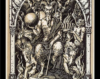 Satan on his Throne