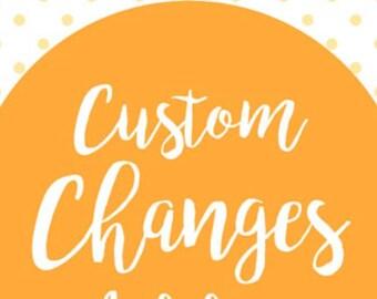 CUSTOM OPTIONS / add length / add sleeve / custom size  / add skirt fullness/ custom color