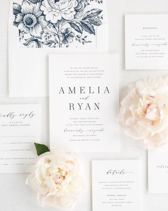 Amelia wedding invitations sample filmwisefo