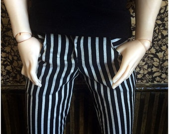 Black&White Stripe Pants (SD)