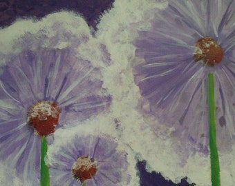 Purple Dandelions