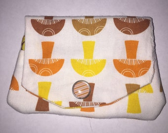 Fabric Money and Card Pouch