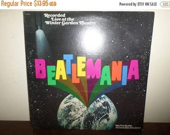 Save 30% Today Vintage 1978 Vinyl LP Record Set Beatlemania Recorded Live at the Winter Gardens 13190