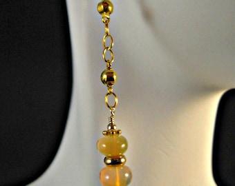 Opal earrings,opal gemstone earrings,birthstone earrings,october birthstone,drop earrings,dangle earrings,opal dangle earrings,birthstone
