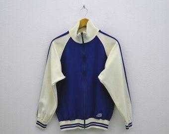 Mizuno Jacket Mens Size S ~ 80s 90s Mizuno Track Top ~ Mizuno Vintage Warm Up Jacket