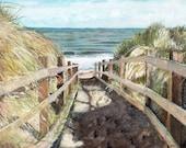 Beach Painting, Print fro...