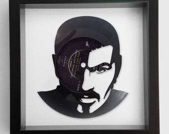 George Michael 'Praying for Time' Vinyl Record Art