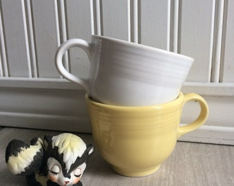 Fiesta Teacup, Fiesta Ware, Homer Laughlin China Co, Coffee Cup, Retired Fiesta Ware, Sale, Mix and Match Tea Cups
