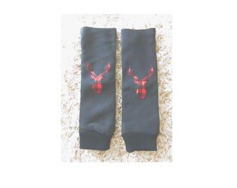 Baby Legs- Deer baby leg warmers