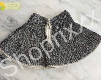 Medieval Chainmail padded coif Armour renaissance fighting replica