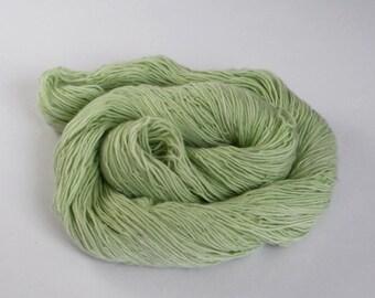 Pastel Green Semi Solid 4ply Sock Yarn 100g