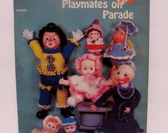 Crocheted Playmates on Parade Book