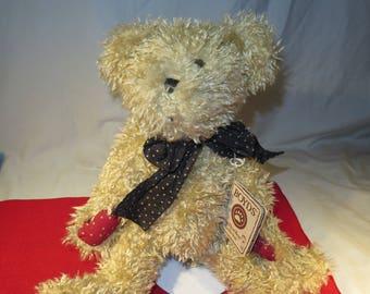 Boyds - The Head Bean Collection - Andy B. Bean Plush Bear #95102NC