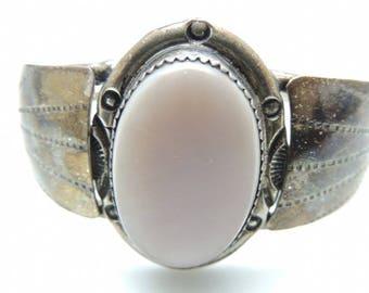 925 Sterling Silver Mother Of Pearl Bracelet