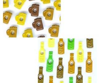 20 grommets quicklets eyelets scrapbooking cardmaking beer bottles and 1/8 quarts