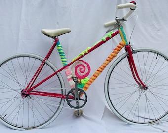 sweet, so girly, artist bike bicycle