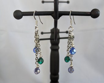 Mother's Day Crystal Birthstone Earrings