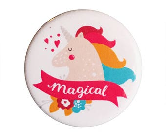 """Be Magical 1.25"""" Button Pin"""