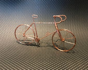 Copper road bike