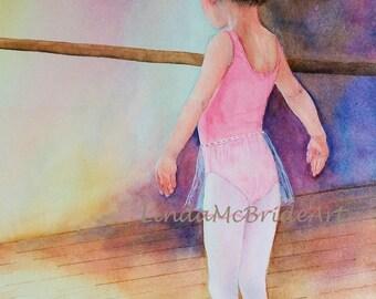 Little Ballerina 3.5x5 Blank Notecard with Envelope