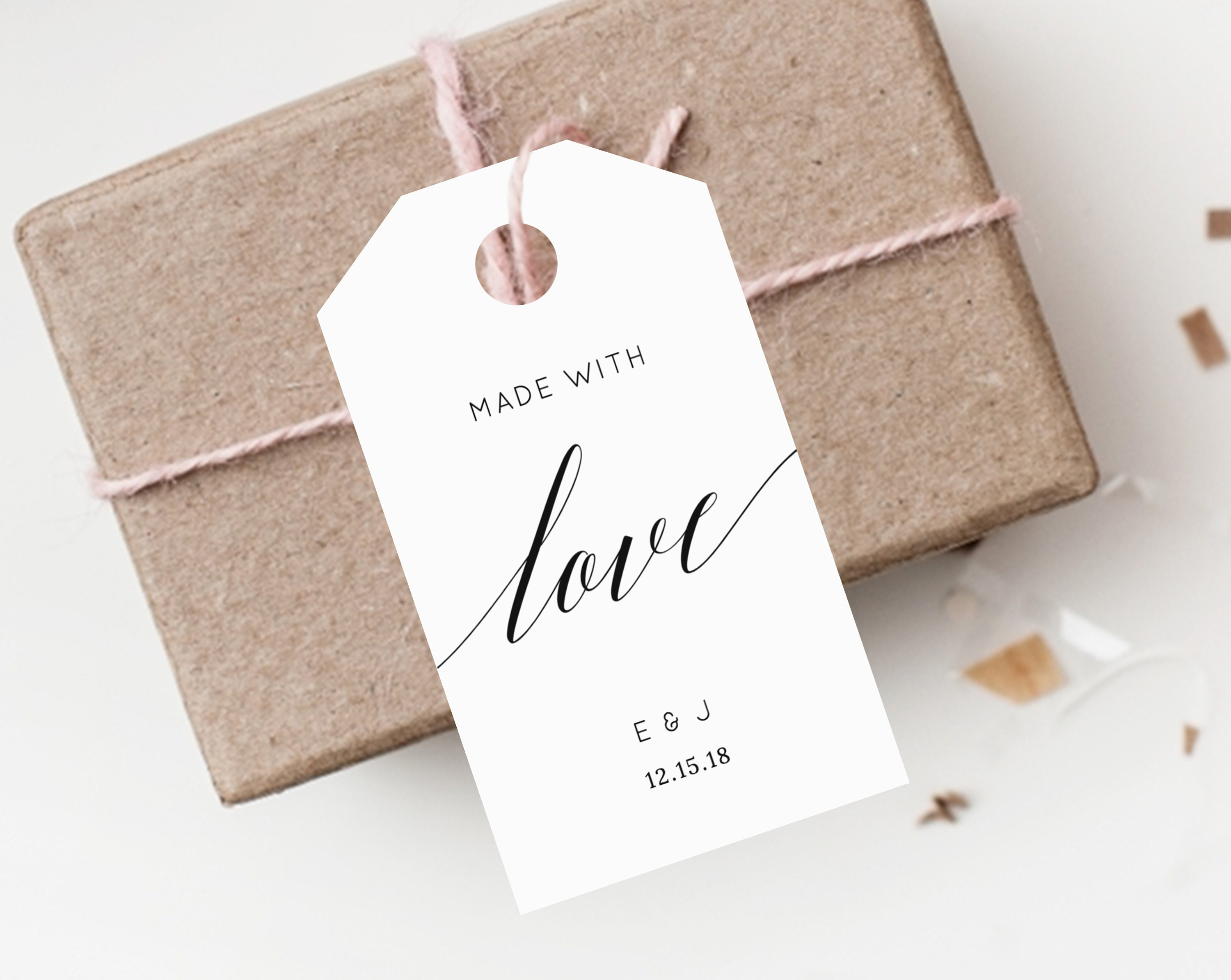 INSTANT DOWNLOAD Favor Tags, Thank You Tag, Wedding Favor Tag ...