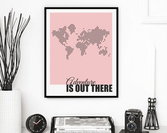 008_ADVENTURE - digital download print , wall art printable, instant download, lamina imprimible para descargar