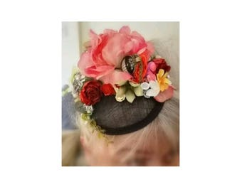 Alice Band Hat Not quite Wonderland Fun Fascinator from Vandalised with Love Cute Quirky Unique Funky Retro Vintagey Perfet Ladies Gift