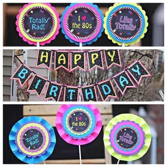 A os 80 decoraciones fiestas a os ochenta feliz cumplea os for Decoracion 80 anos ipuc