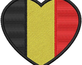 Brussels Heart Flag