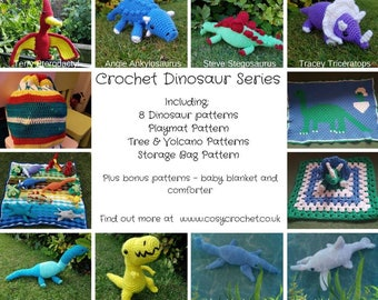 Crochet Dinosaur Ebook
