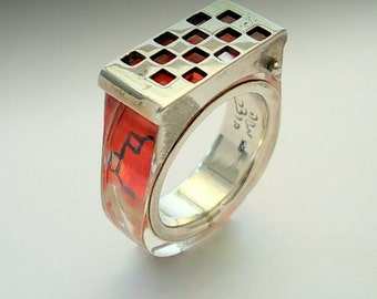 Chess RING.Silver Art