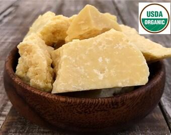 16oz COCOA BUTTER, Raw Cocoa Butter, Organic Cocoa Butter, Pure Prime Pressed, Crude, Wholesale