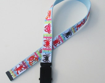 Crabby Belt for Kids, Cute Childrens Belts for Children, Cute Kids Belts, Cute Boys Belts for Boys, School Uniform Belts, School Belts