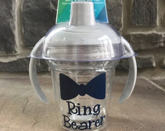 Ring Bearer Bow Tie TERVIS Sippy - Cup 6oz